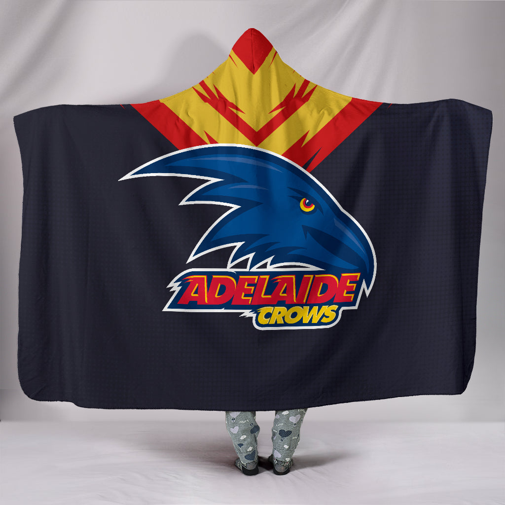 Adelaide Crows Hooded Blanket A25