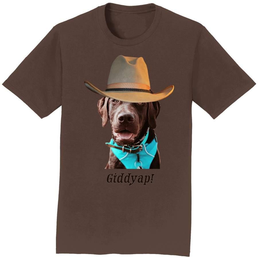 Giddyap – Adult Unisex T-Shirt