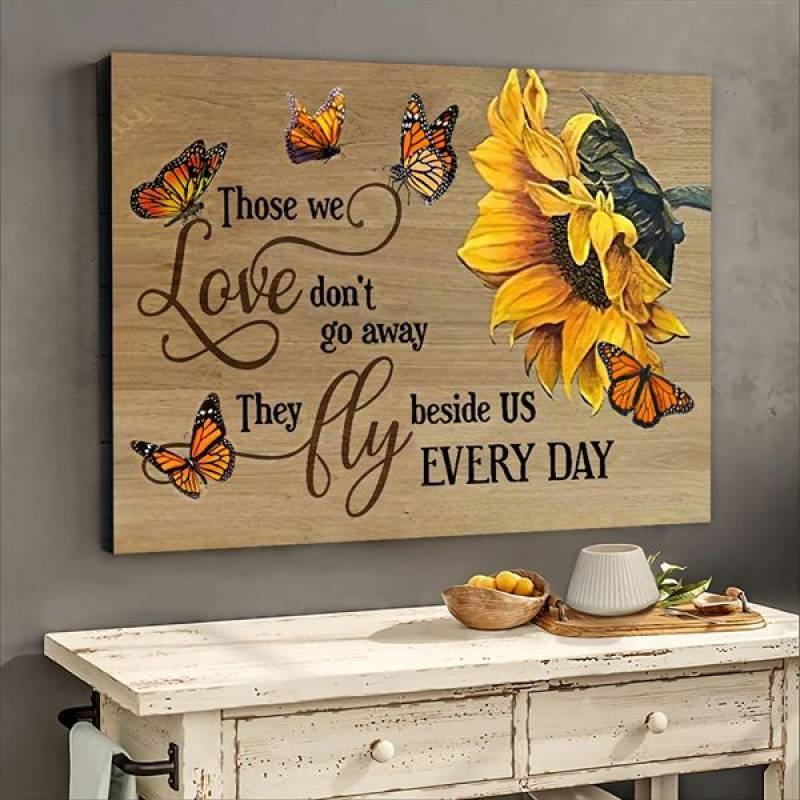 Those We Love Dont Go Away - Unframed Horizontal Poster