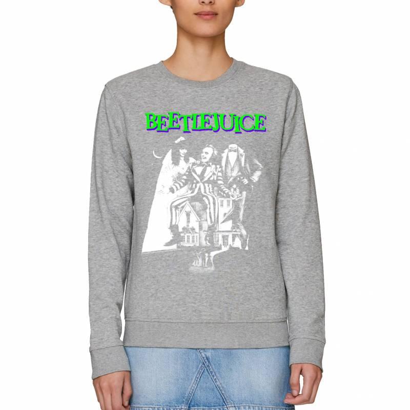 Beetlejuice Mono Poster Adults Unisex Sweatshirt