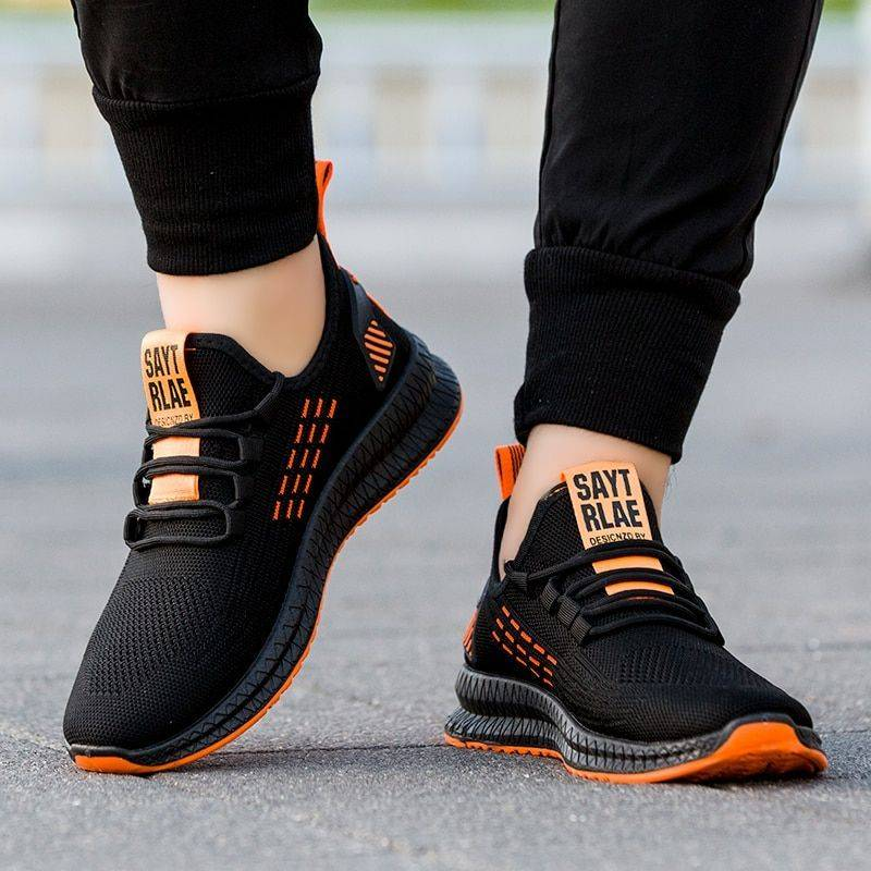 Casual Lace Up Light Walking Trend Sneakers & Shoes