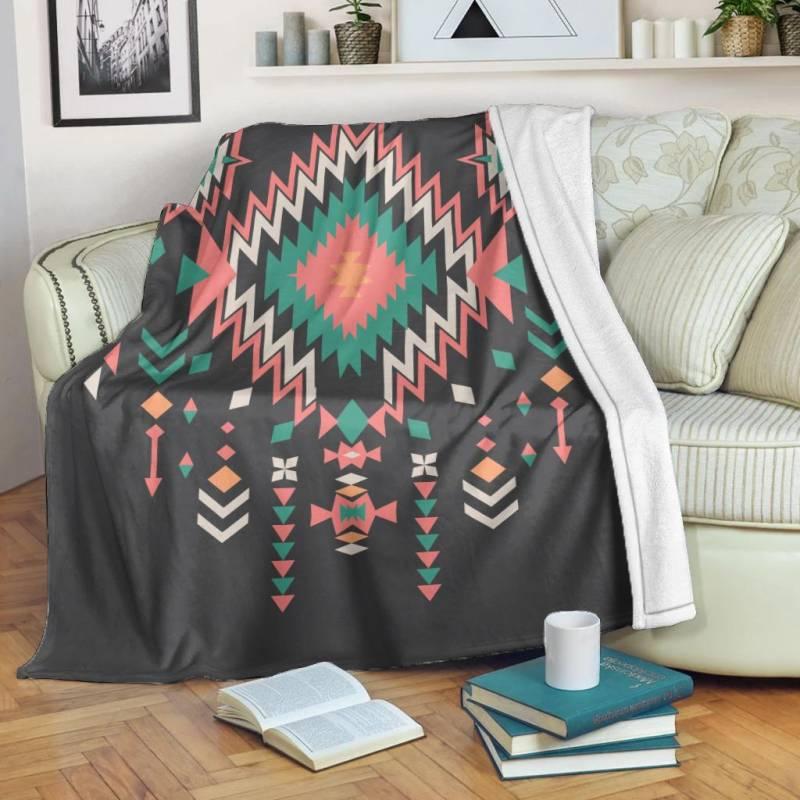 Native American Blanket - Native American Patterns - BN01