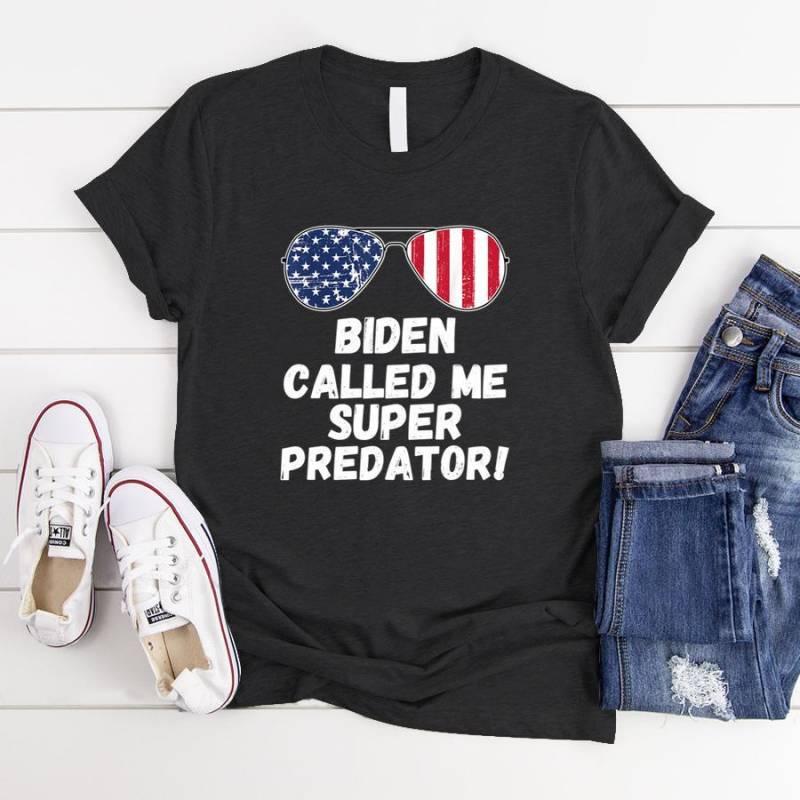 2020 Presidential National Debate Funny Meme Super Predator  T-Shirt