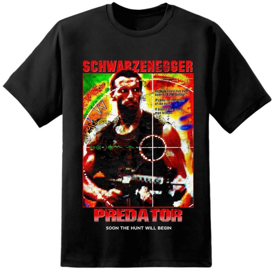 Alien Xenomorph Movie Shirt Mens Predator Movie Poster Yautja Wolf Nostromo