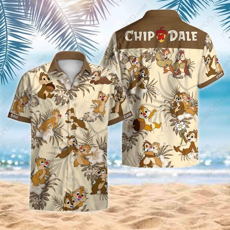 Chip and Dale Hawaii Shirt