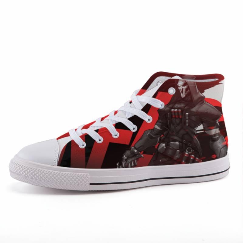 Overwatch Reaper Hero Dope Style Gaming Sneaker Shoes