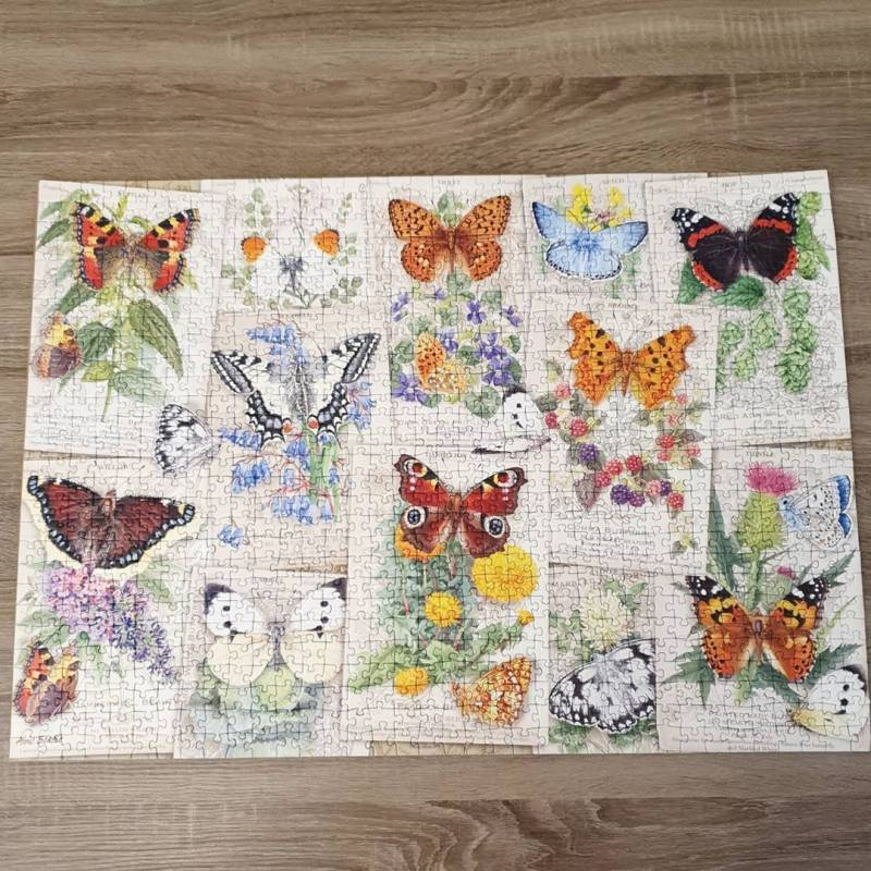Artsyhomes [Jigsaw Puzzles] Butterflies Lover Jigsaw Puzzle CL26050124