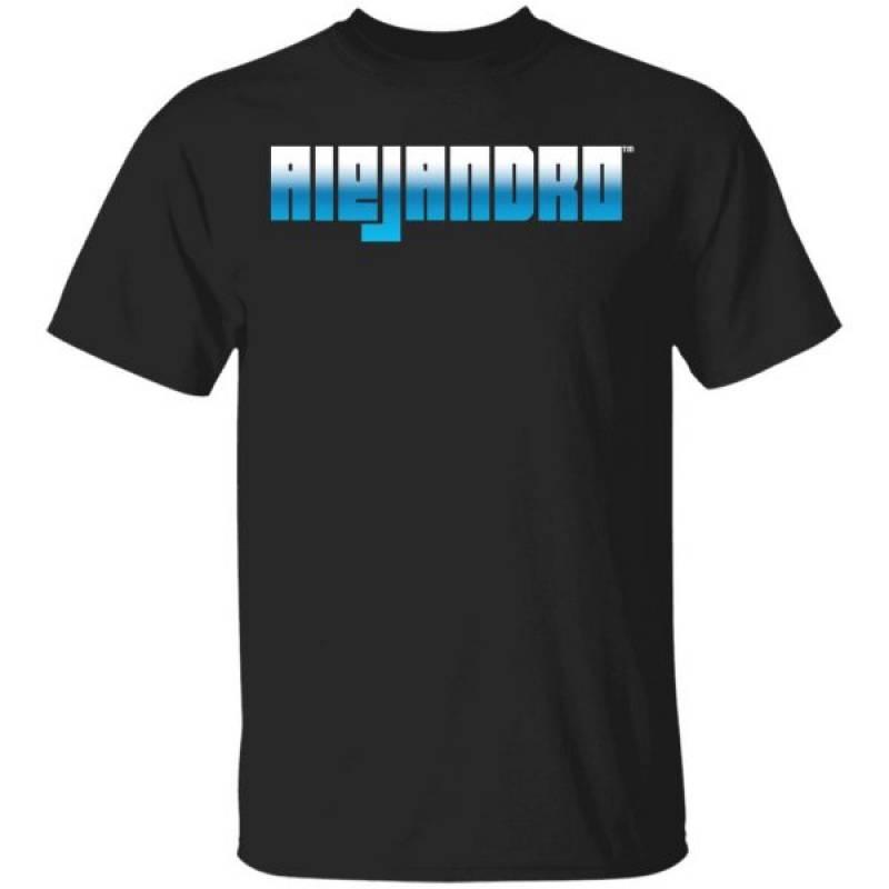Alejandro Rosario Merch Black Shirt
