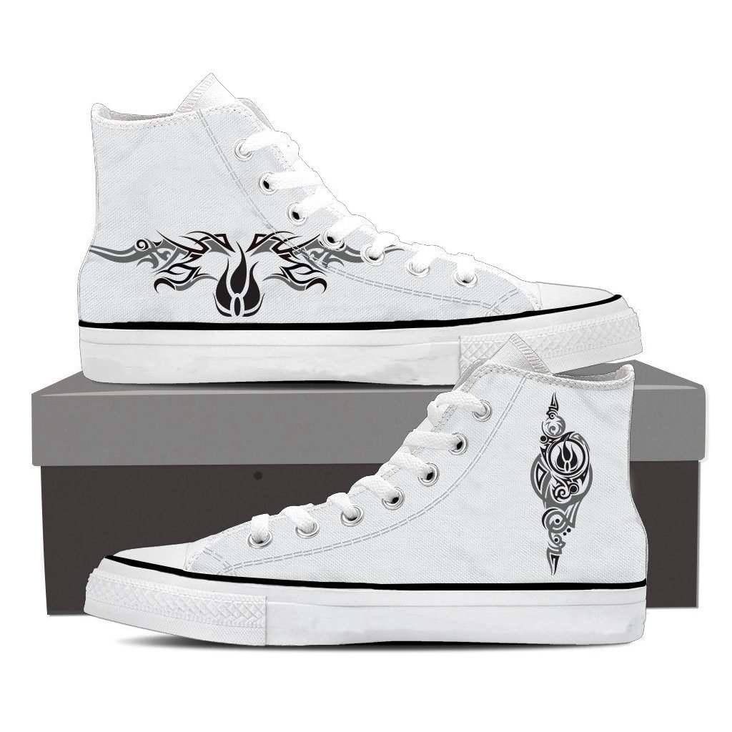 RWBY Blake Belladonna Symbol High Top Shoes