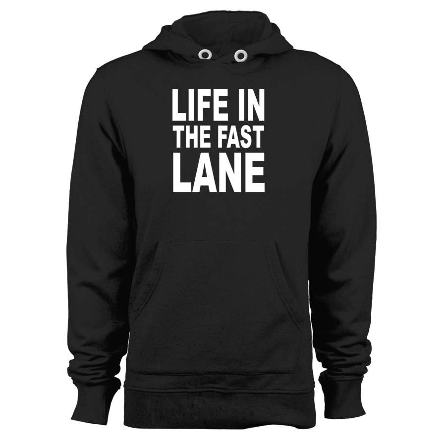 The Eagles Song Lyrics Life In The Fast Lane Unisex Hoodie