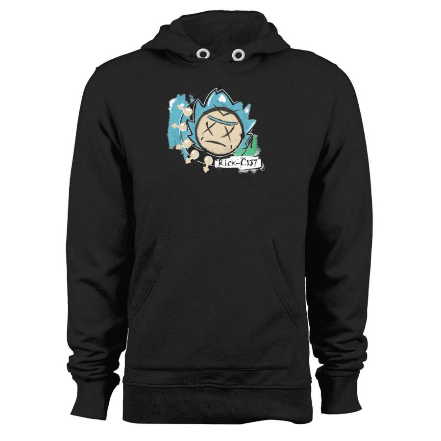 Rick And Morty Blink Unisex Hoodie