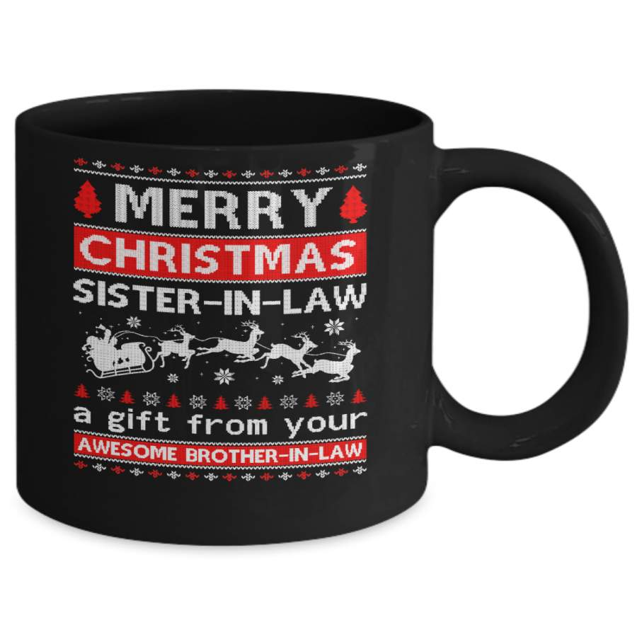 Merry Christmas Sister-In-Law A Gift From Your Brother-In ...