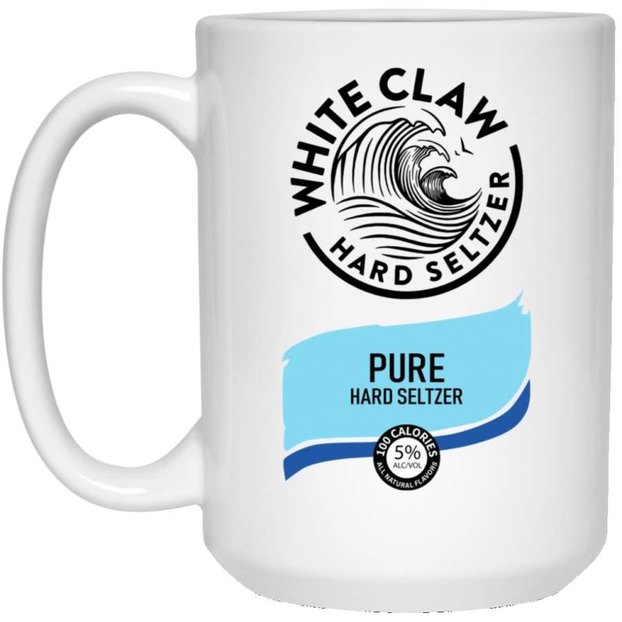White Claw Halloween Costume Pure Hard Seltzer Mug