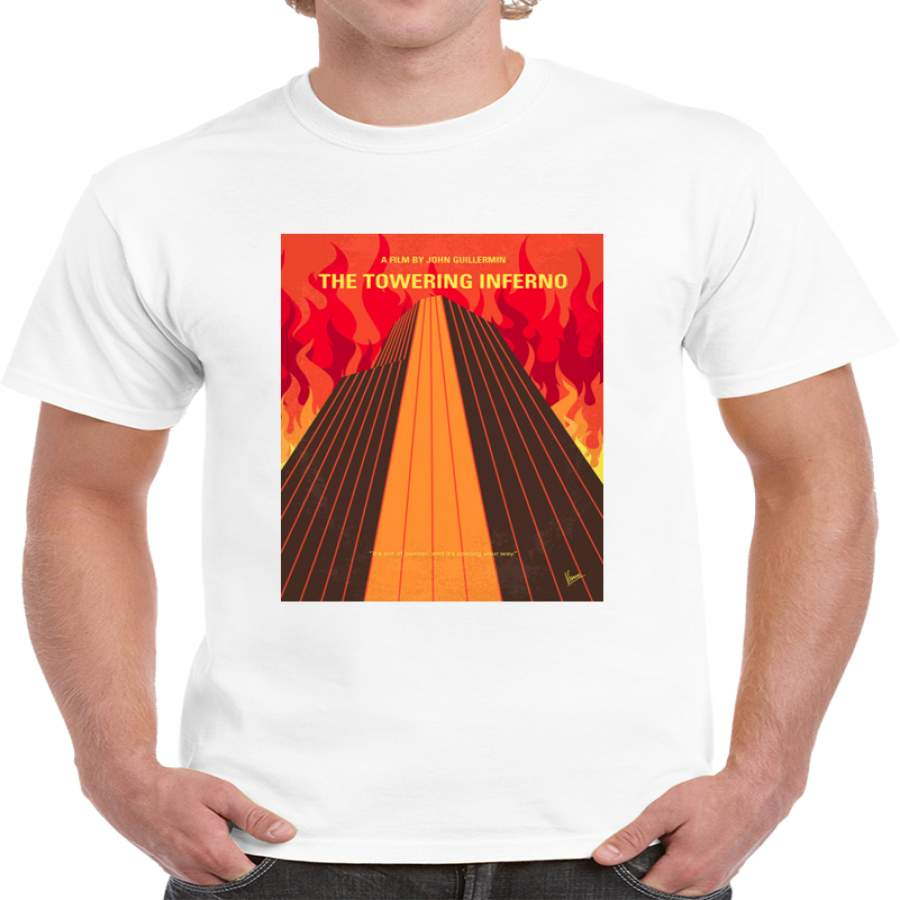 The Towering Inferno Minimalist Movie Poster T Shirt