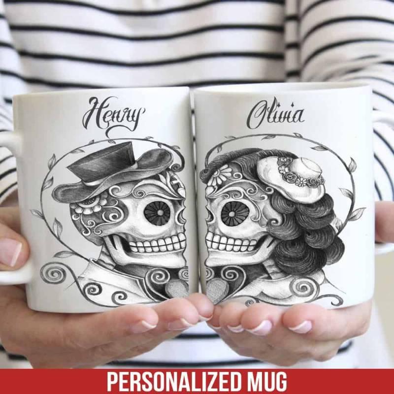 Personalized Skull Mug 68O59