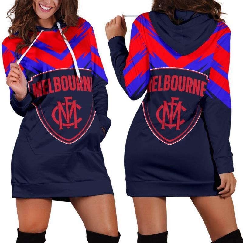 Melbourne Women's Hoodie Dress A25