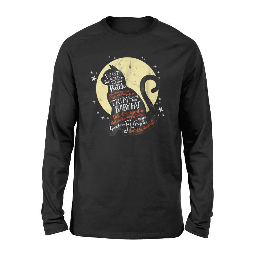 Halloween Thackery Binx Cat T-Shirt Black Cat Quote Spell – Standard Long Sleeve