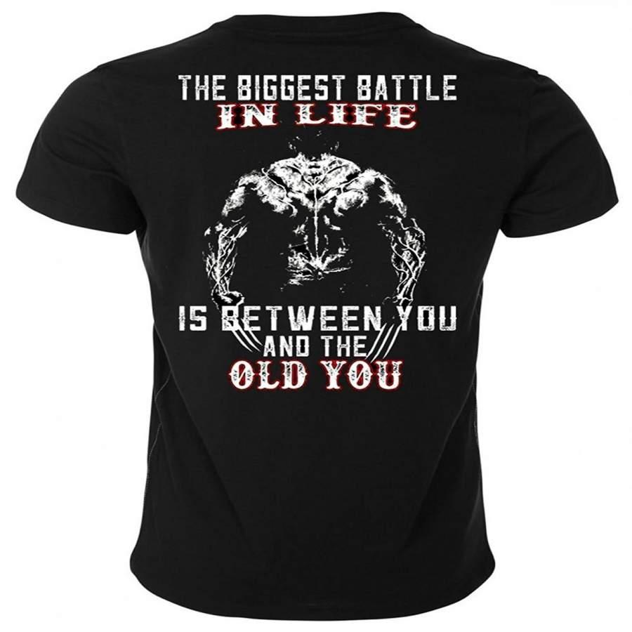Old Man Logan Wolverine Unisex Men'S Fashion T-Shirt ...