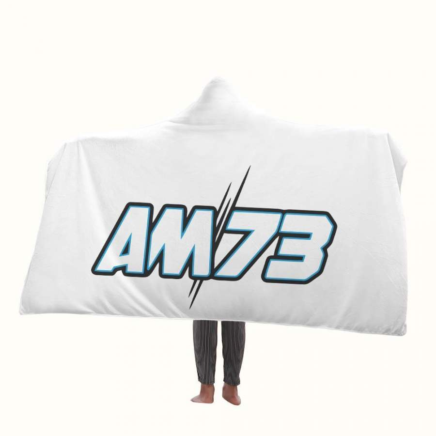 Alex Marquez Logo Hooded Blanket