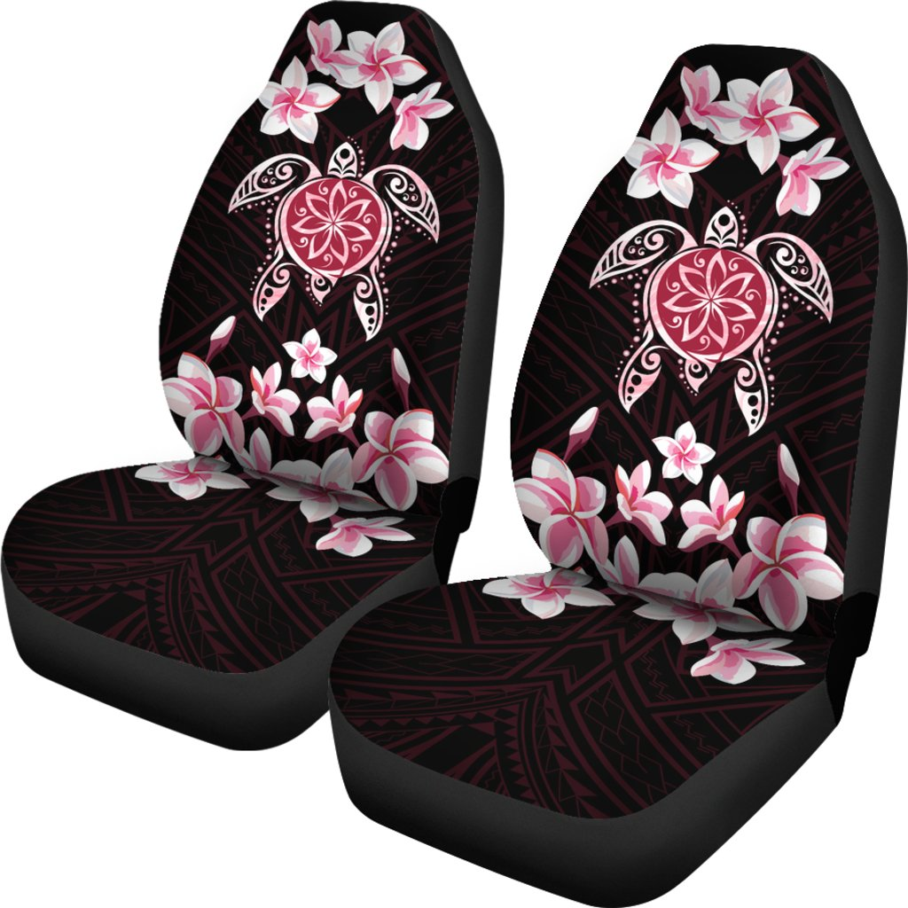 �Alohawaii Car Seat Covers – Hawaiian Pinky Turtle Plumeria – AH J0