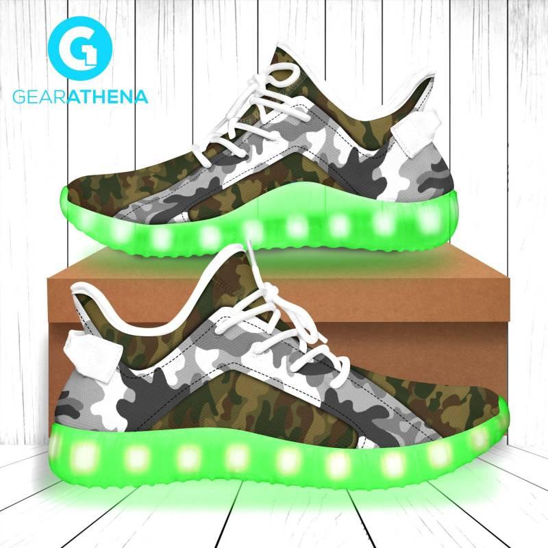 Led Shoes Camo-LT0306GV7-Tads
