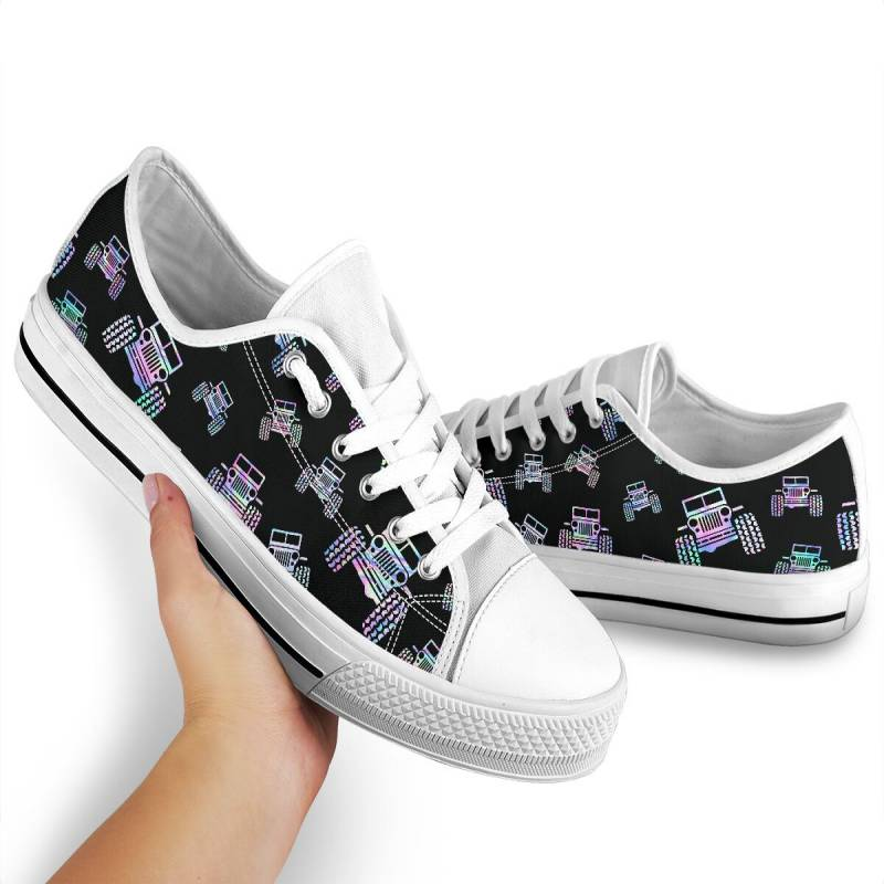 Jeep pattern low top shoes – TAGOTEE