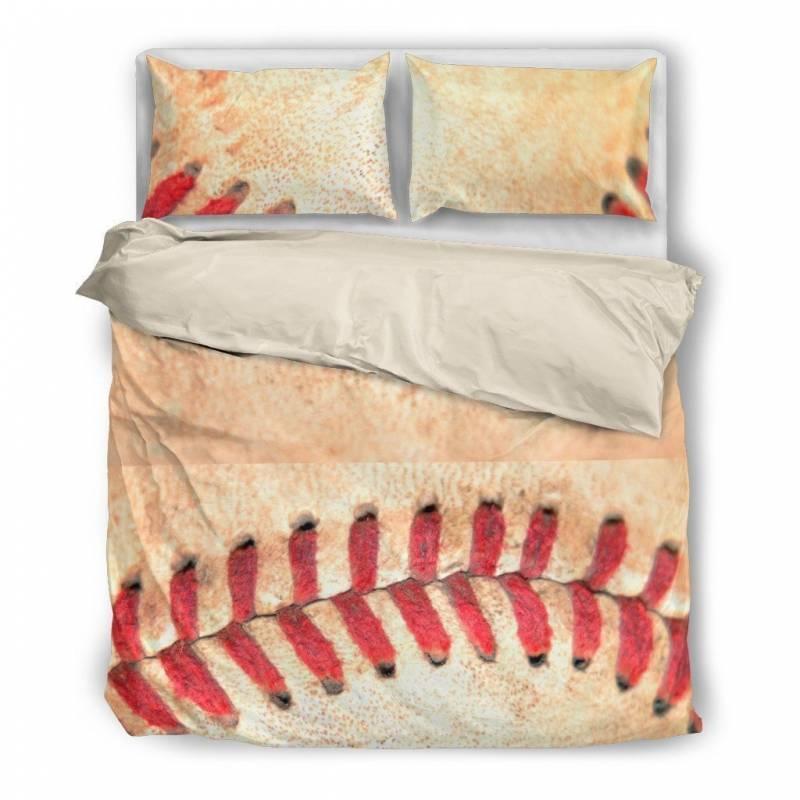 Baseball Stitches #2 Duvet and Pillow Cover Bedding Set – Muggalicious