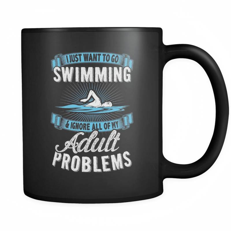 Adult Problems - Luxury Swimming Mug