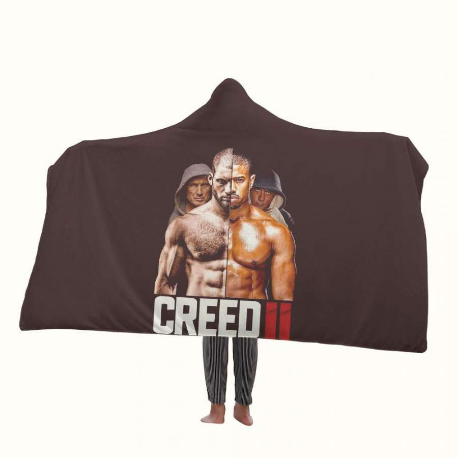 Creed 2 Poster Hooded Blanket
