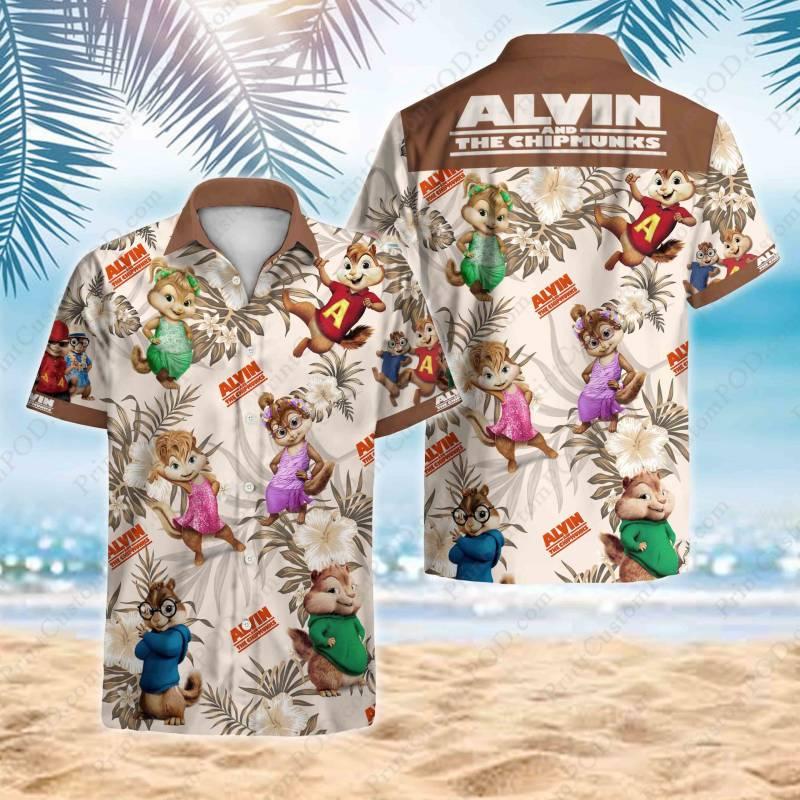 Alvin and the Chipmunks Hawaii Shirt