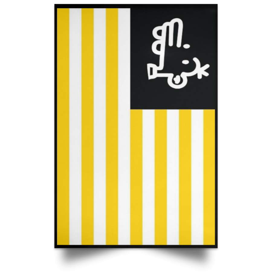 Gen Z Manny Heffley Flag Petition Poster Changing The American Flag Poster