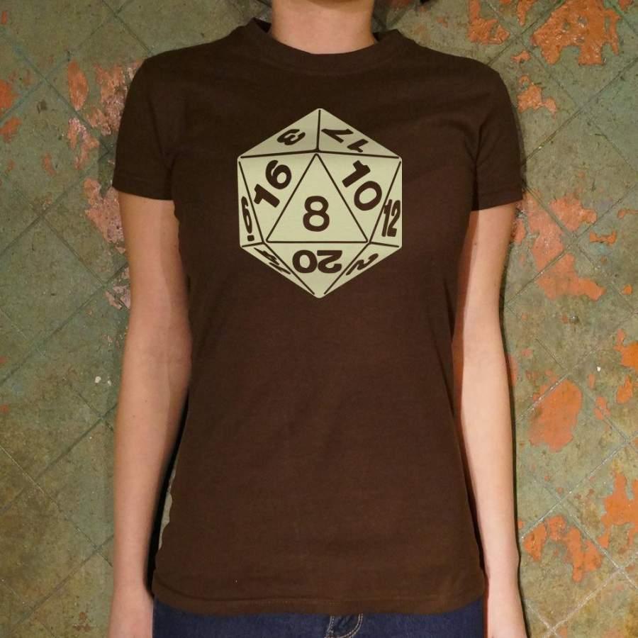 20-Sided Die T-Shirt (Ladies)