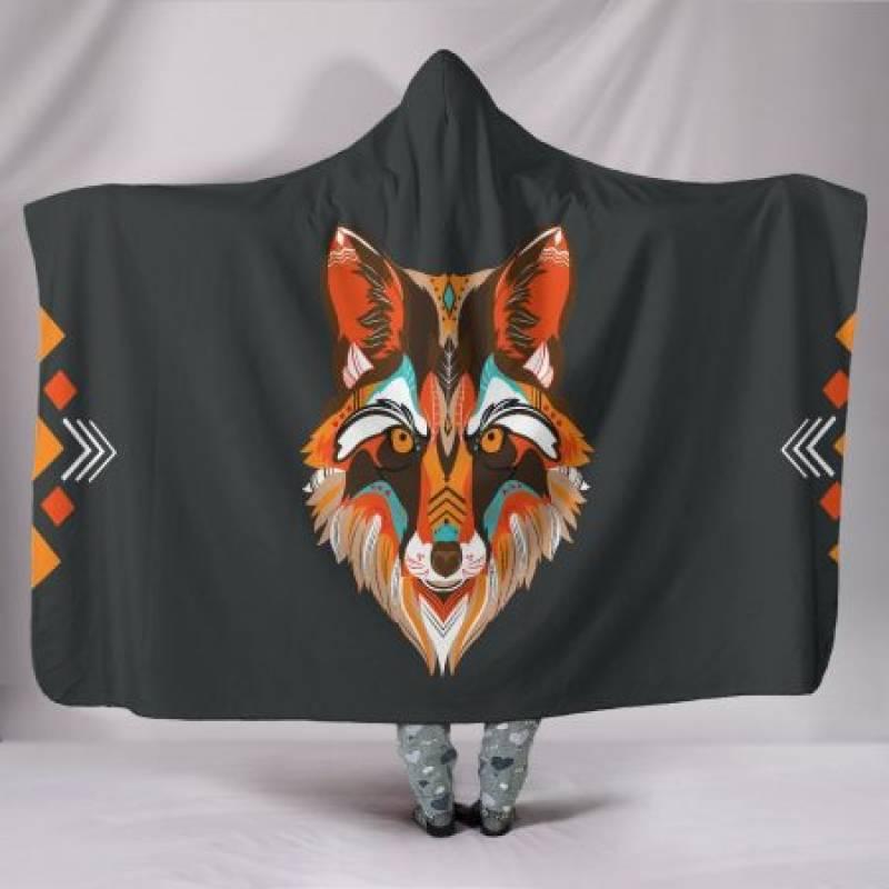 Custom Hoodie Blanket – Wolf Me