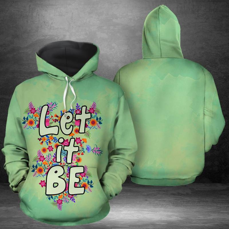Let It Be H159115 - All Over Print Unisex Hoodie