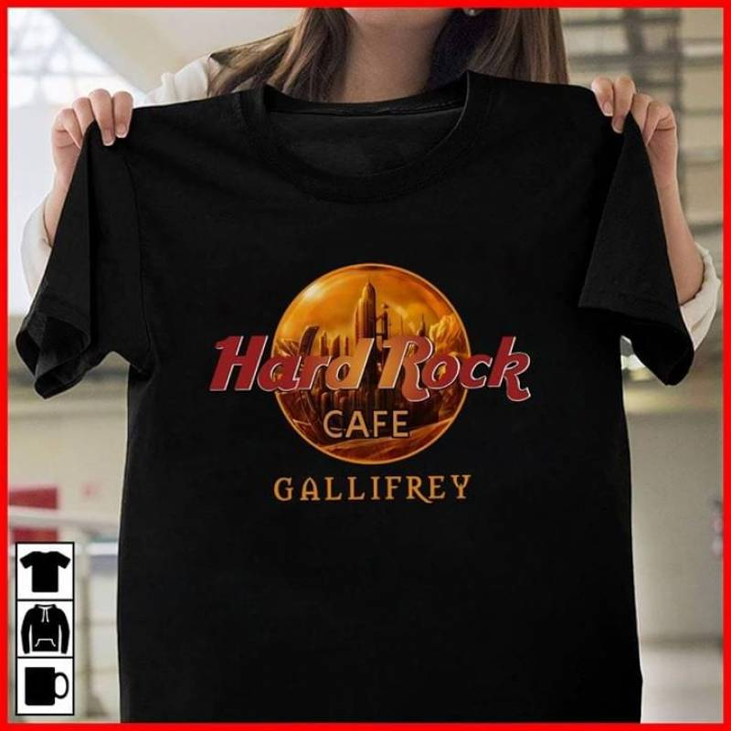 Hard rock cafe gallifrey star wars cross over dr who for fan t shirt