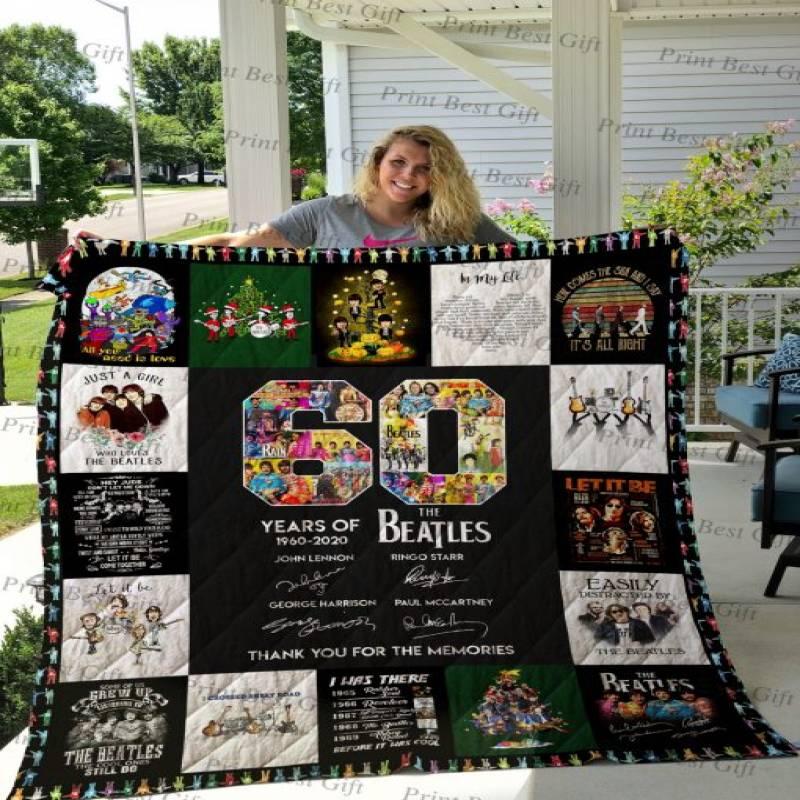 The Beatles T-shirt Quilt