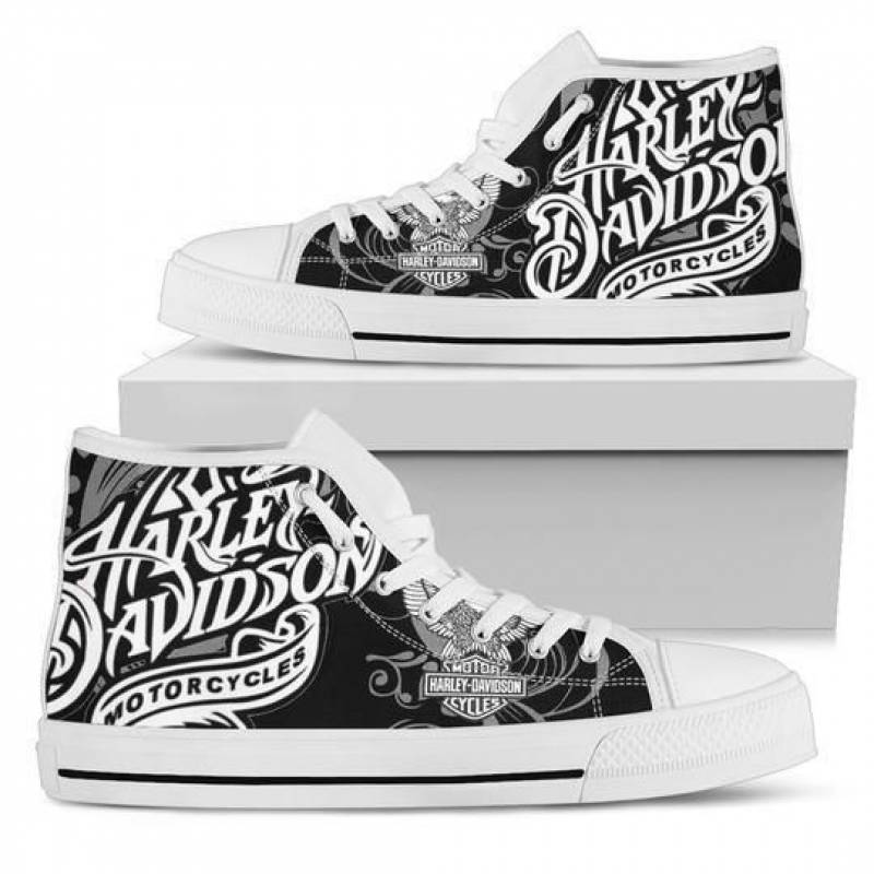 HD High Top Canvas Shoes 5 NS09145