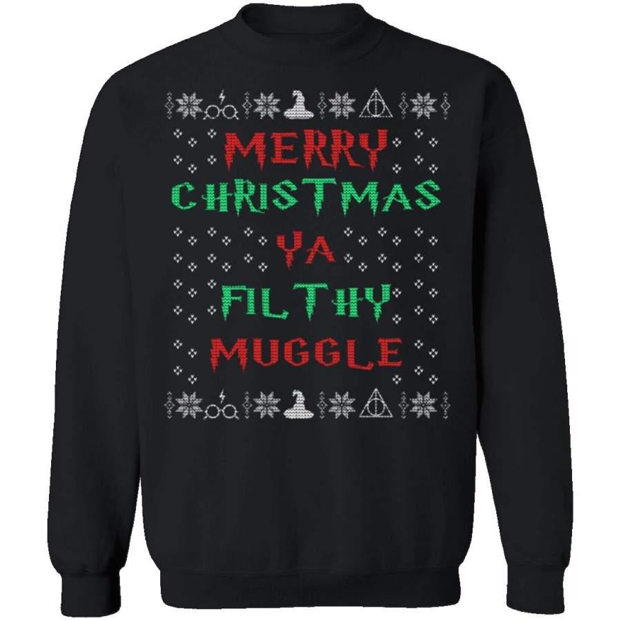 Filthy Muggle Ugly Christmas Sweater