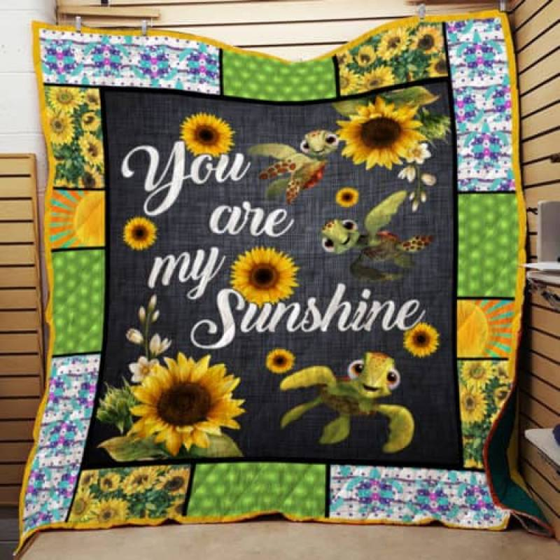 You Are My Sunshine, Turtle Quilt TH359