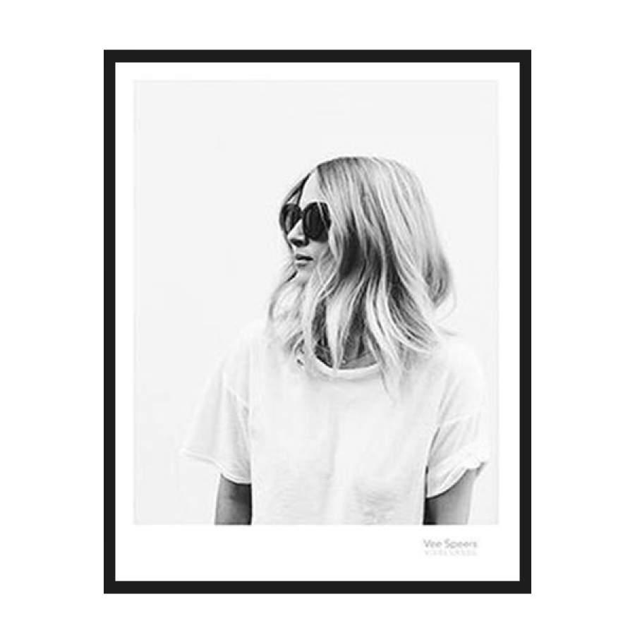 Blond Girl Poster