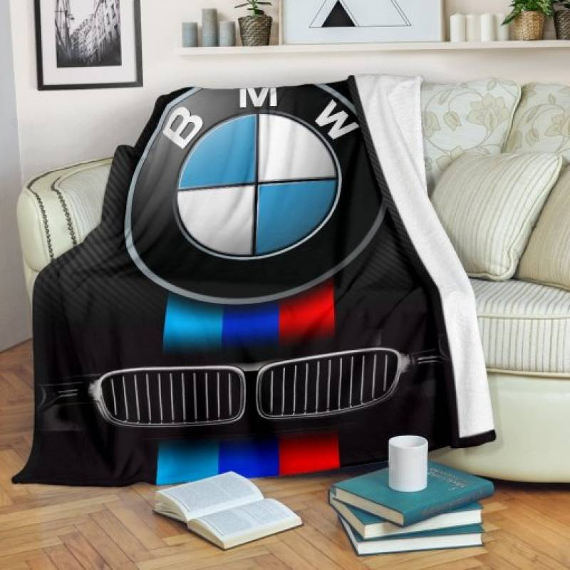 Bmw Fleece Blanket
