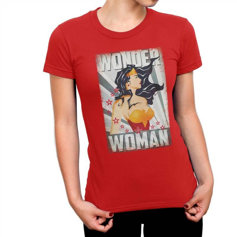Wonder Woman Poster Ladies T-Shirt