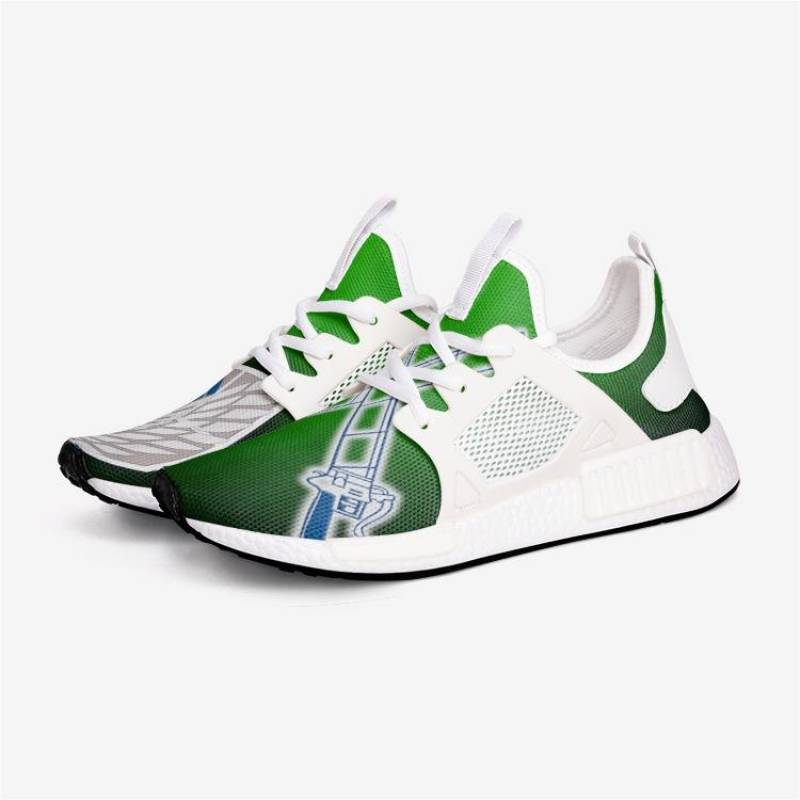 Attack on TITAN SURVEY CORPS GRN Custom Nomad™ Shoes