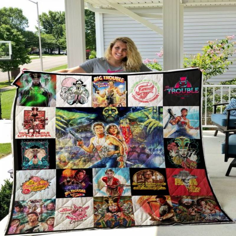 Big Trouble In Little China T-shirt Quilt