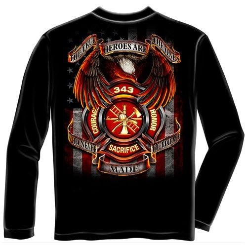 343 Fallen Heroes Mens Long Sleeve T-Shirt