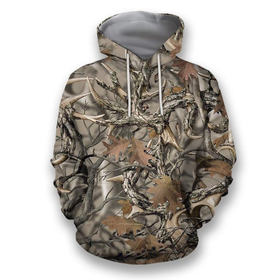 All Over Printed Camo Hunting Clothes