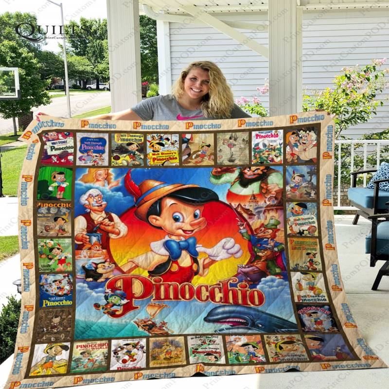ADU – Pinocchio 1940 Quilt Blanket Ver 1