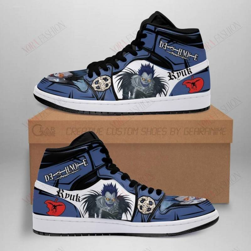 Ryuk Shoes Boots Custom Death Note Sneakers Anime Fan MN05