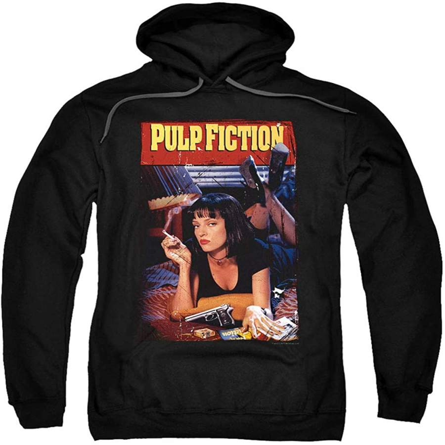 Pulp Fiction Movie Poster Uma Thurman Pullover Hoodie Sweatshirt