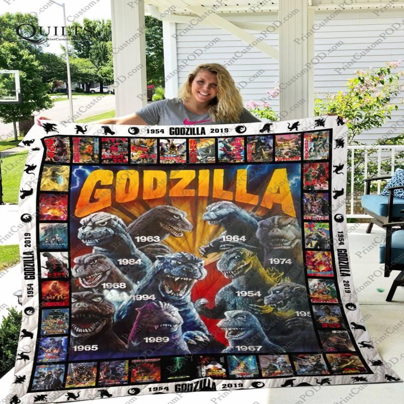 Godzilla quilt blanket – Teasearch3d 210520